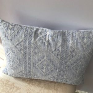 Cupcakes & Cashmere Blue Lavendar accent pillow